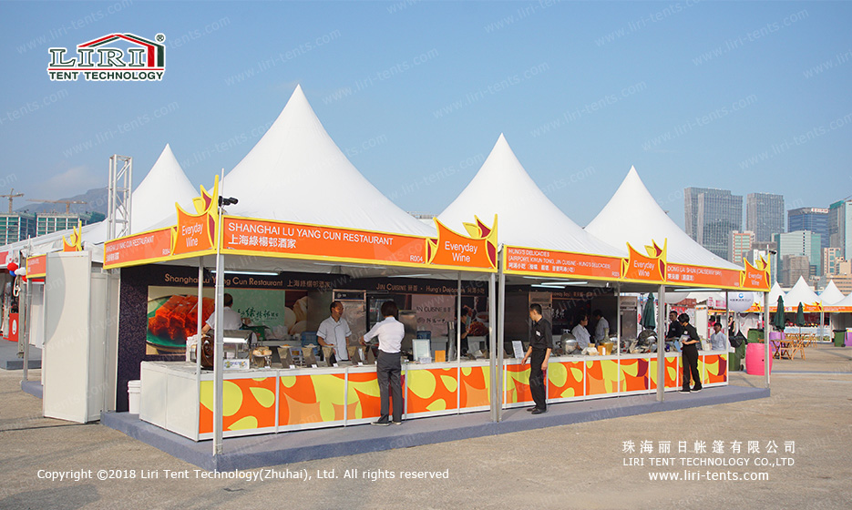 pagoda marquee tent