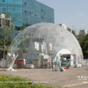 transparent dome marquee