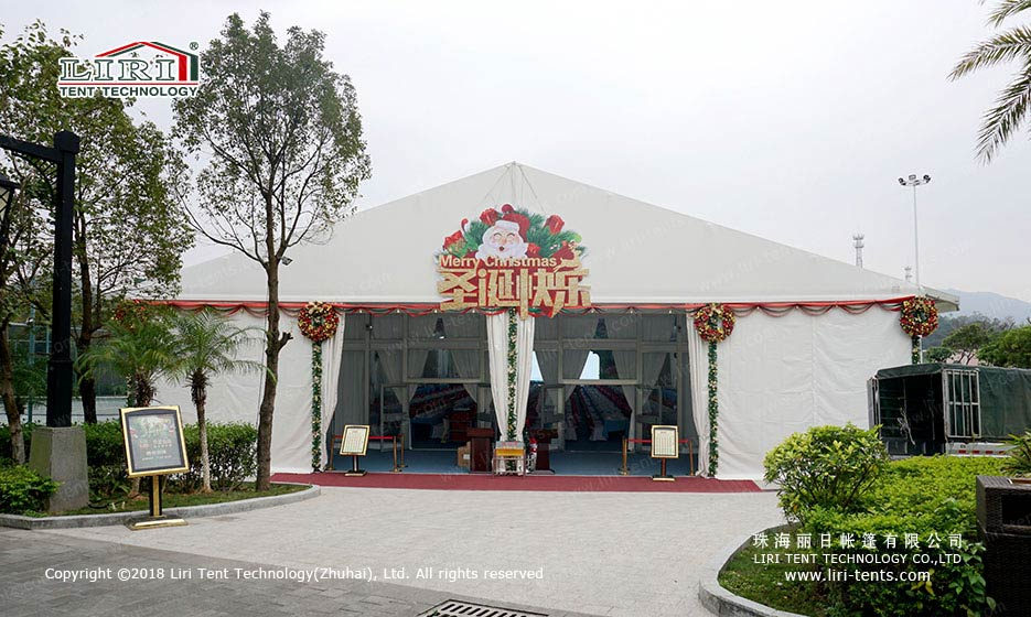 Outdoors Christmas Party Marquee